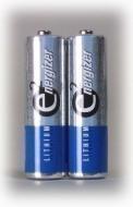 Energizer Batterie Lithium Mignon, 2 Stück