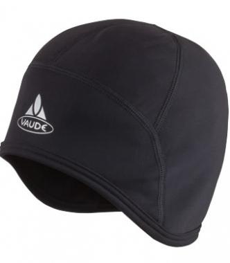 Vaude Bike Warm Cap Helmunterzieher - black / S