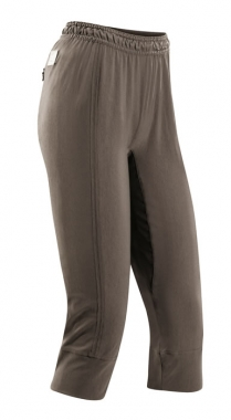 Vaude Women Fly Capri Pants - lightbrown / 38