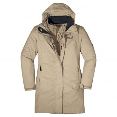 Jack Wolfskin Gracefield Coat Women - puresands / S