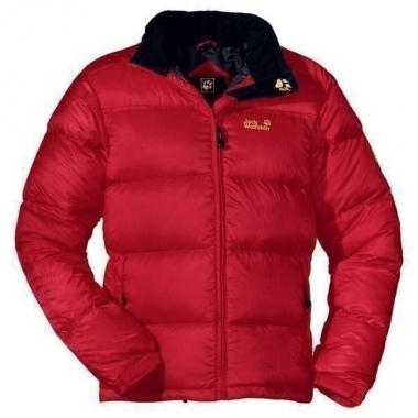Jack Wolfskin Chogori Jacket Men - tango-red / L