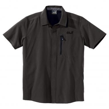 Jack Wolfskin Ascent Shirt Men - olive-brown / M