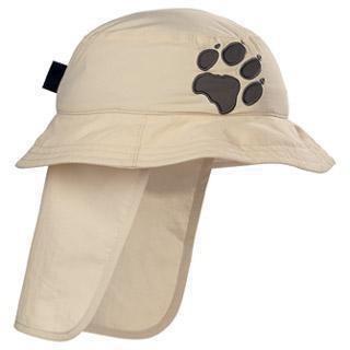 Jack Wolfskin Kids Protection Hat - ivory / S