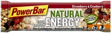 PowerBar Natural Energy - strawberry-cranberry