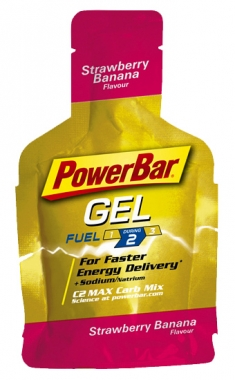 PowerBar PowerGel - erdbeer-banane
