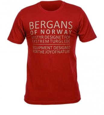 Bergans Tee - burg / XXL