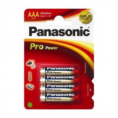 Panasonic Alkaline Batterien Power Max 3 Microzelle, 1,38
