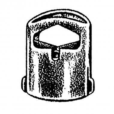 NM feststellbarer Tanka schwarz