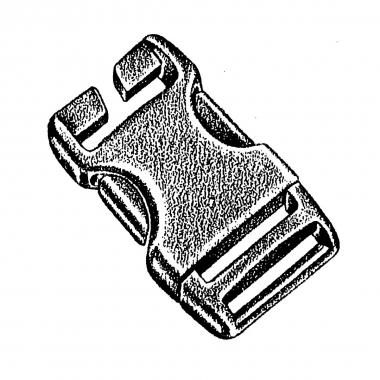 NM Steckschließe Spezial 25 mm