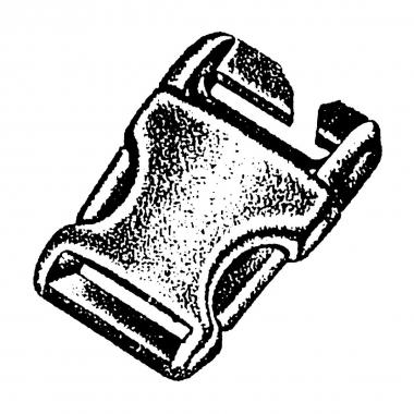 NM Steckschließe Spezial II 25 mm, 2 St. Karte