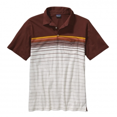 Patagonia Mens SS Squeaky Clean Polo - jacktar-pearl / M