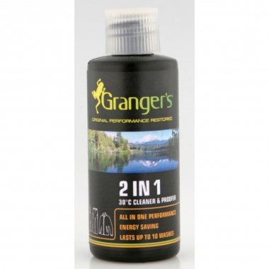 Grangers Kleidung 2in1 Imprägnierung/Reiniger 60 ml Reise