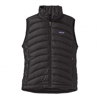 Patagonia Womens Down Sweater Vest - black / S