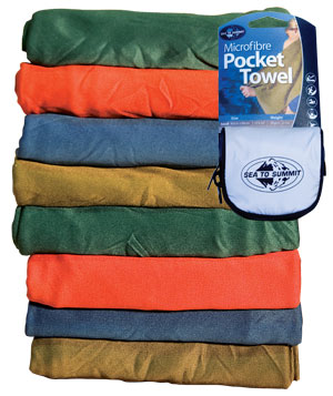 Sea to Summit Pocket Towel Mikrofaser Handtuch - Small