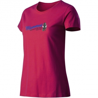 Mammut Elyse T-Shirt Women - barberry / M