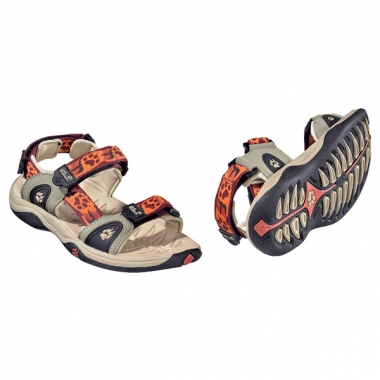 Jack Wolfskin Kids Oceanside Sandal - mexican pepper / 35