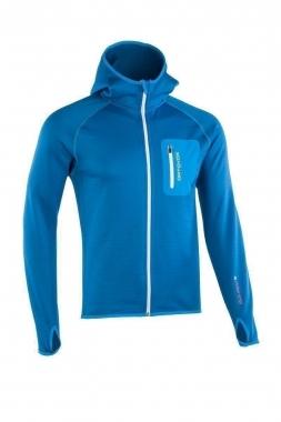 Ortovox Fleece Hoody - blue-ocean / XL
