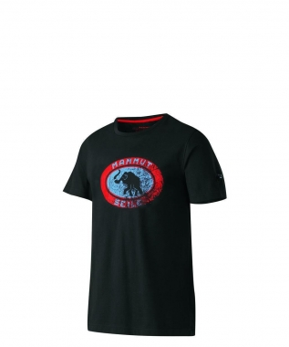 Mammut Seile T-Shirt Men - black / M