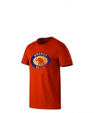 Mammut Seile T-Shirt Men - ginger / M