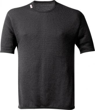 WoolPower Unterhemd Kurzarm T-Shirt 200g - schwarz / M