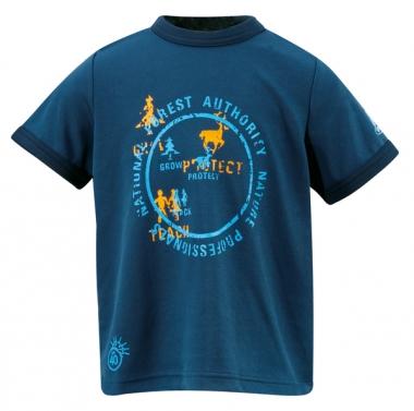 Vaude Kids Zodiak Shirt - steelblue / 116