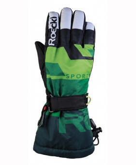 Roeckl Ski Juniors Arden grün 5 grün | 5