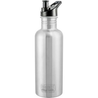 360° Degrees Trinkflaschen Edelstahl steel 1000 ml steel | 1000 ml