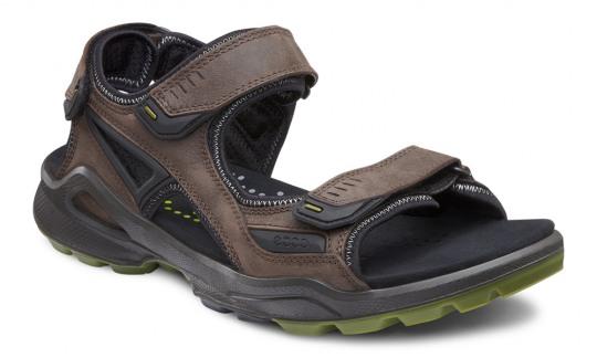 Ecco Biom Terrain Sandal Mens black-coffee 46 black-coffee   46