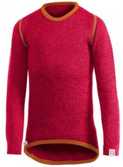 Woolpower Kinder Unterhemd Rund 200g rot-orange 140 rot-orange | 140