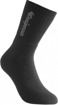 WoolPower Socken 400 Gramm mit Logo schwarz 45-48 schwarz | 45-48