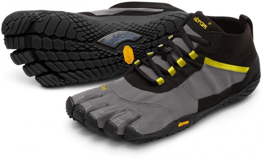 Vibram FiveFingers V-Trek Men black-grey-citronelle 41 black-grey-citronelle | 41