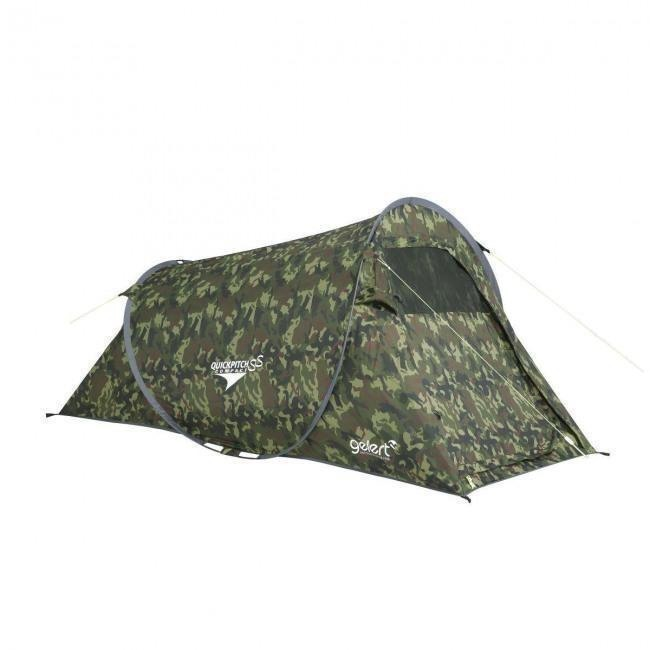 Gelert Zelt Quick Pitch Compact army-camo