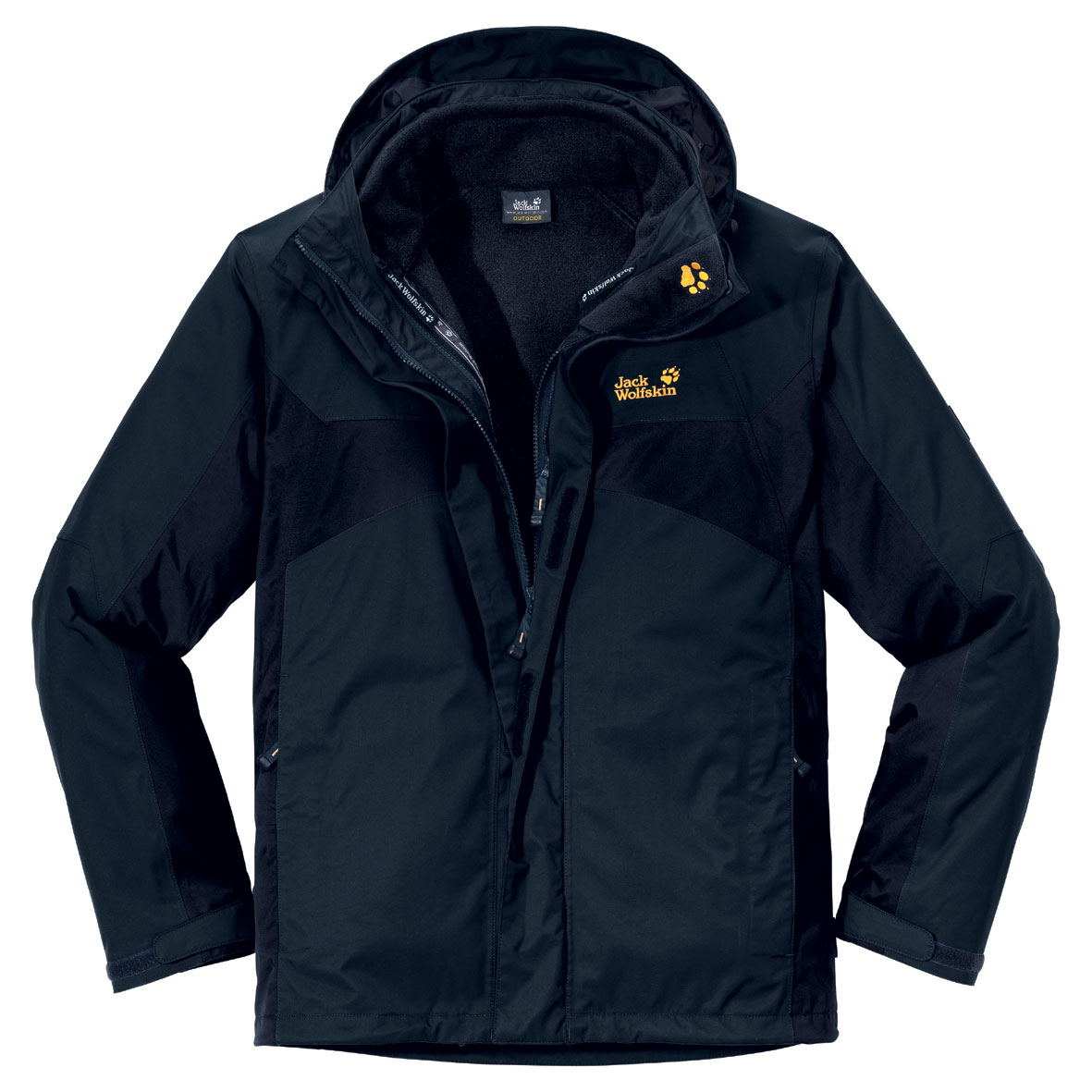 Jack wolfskin herren jacke wattiert north country test