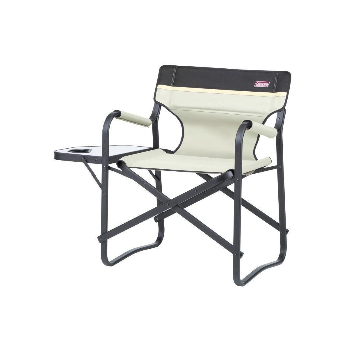 coleman campingstuhl 39 deck chair 39 mit tisch bei outdoor zeit kaufen. Black Bedroom Furniture Sets. Home Design Ideas