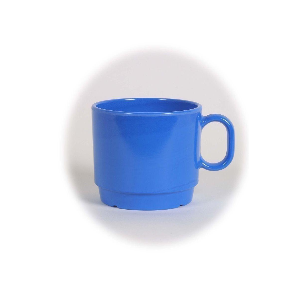 melamin blau tasse 280 ml bei outdoor zeit kaufen. Black Bedroom Furniture Sets. Home Design Ideas